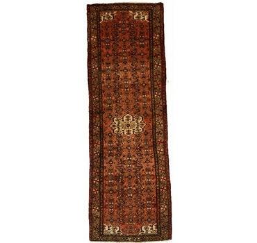 3' 6 x 10' 3 Hossainabad Persian Runner Rug main image