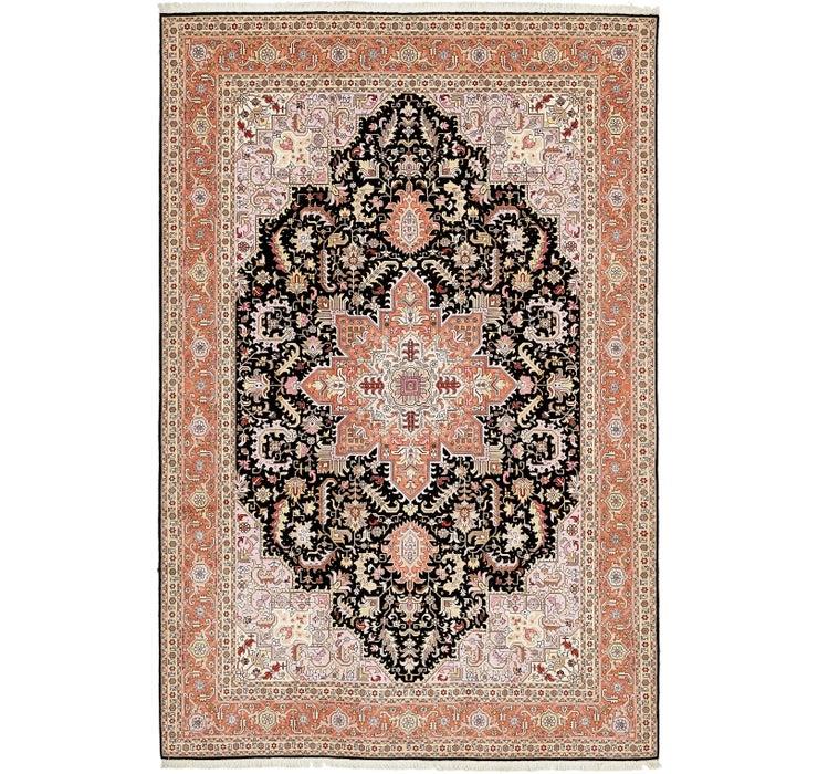 198cm x 305cm Tabriz Persian Rug