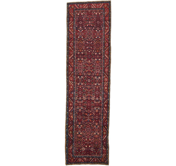 112cm x 417cm Hossainabad Persian Run...