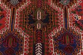 4' 1 x 9' 2 Shiraz Persian Runner Rug thumbnail