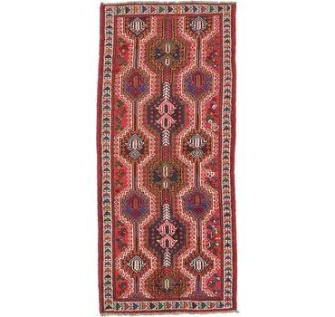 4' 1 x 9' 2 Shiraz Persian Runner Rug main image