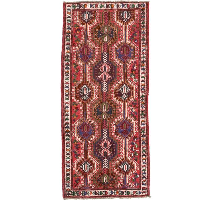 4' 1 x 9' 2 Shiraz Persian Runner Rug