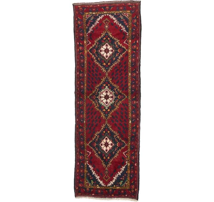 110cm x 318cm Zanjan Persian Runner Rug