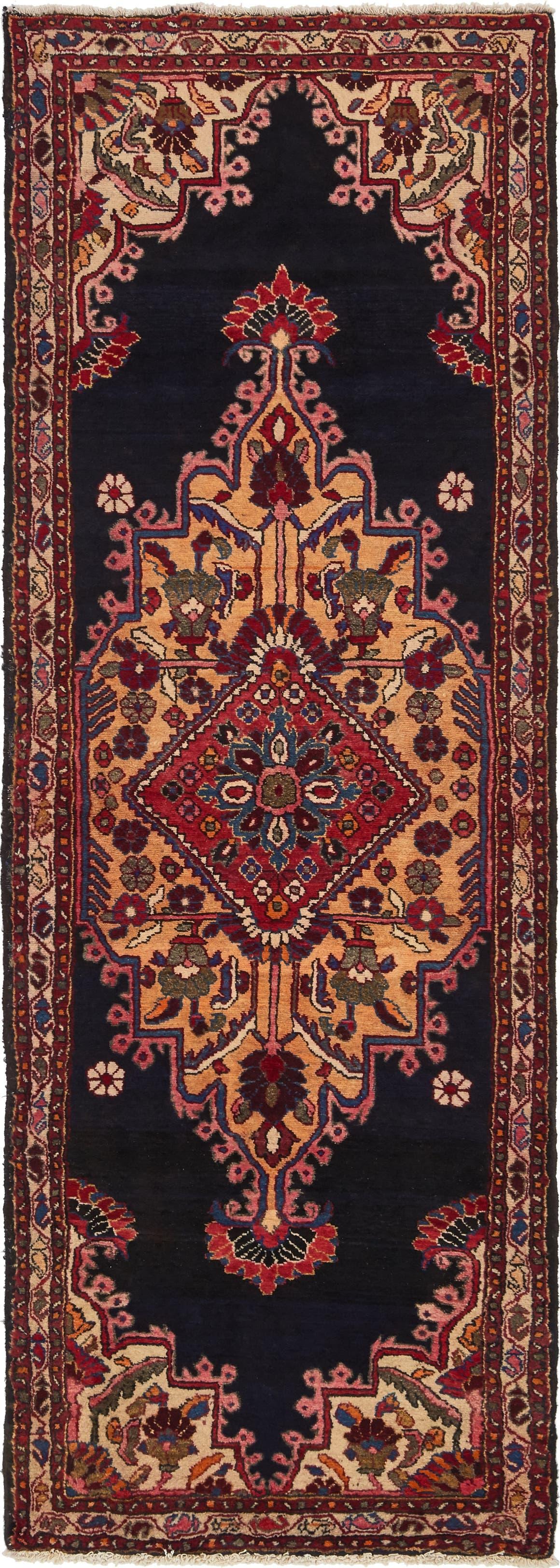 3' 5 x 9' 6 Nanaj Persian Runner Rug main image