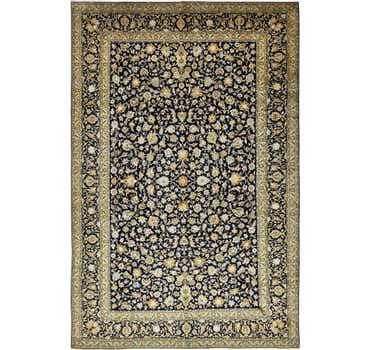 Image of 9' 2 x 14' Kashan Persian Rug