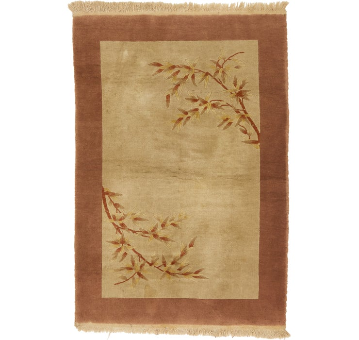 122cm x 178cm Antique Finish Rug