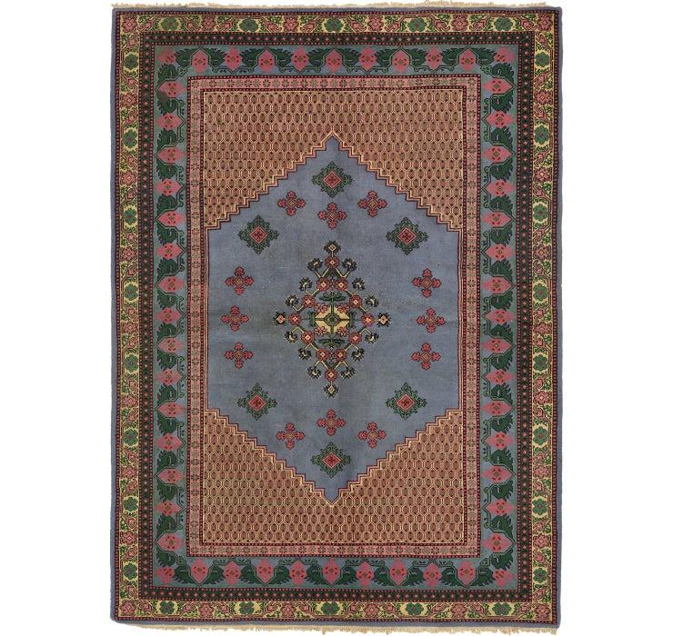 175cm x 245cm Indo Tabriz Oriental Rug