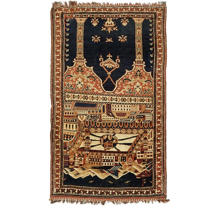 3' 1 x 5' 1 Shiraz Persian Rug