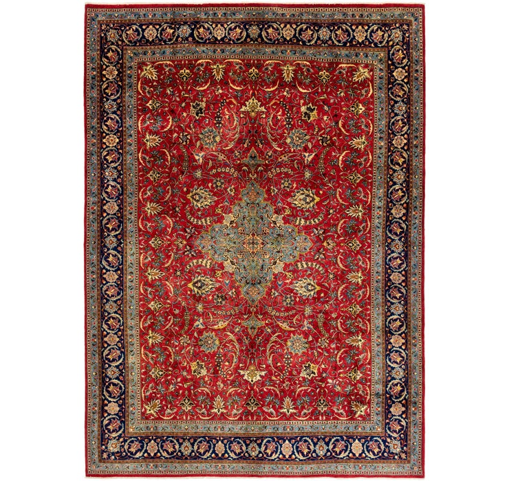 277cm x 390cm Sarough Persian Rug