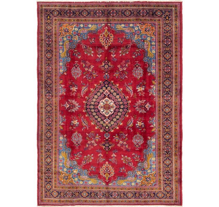 245cm x 353cm Golpayegan Persian Rug