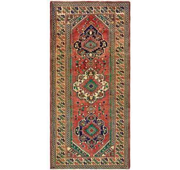 4' 8 x 9' 10 Shiraz Persian Runner Rug