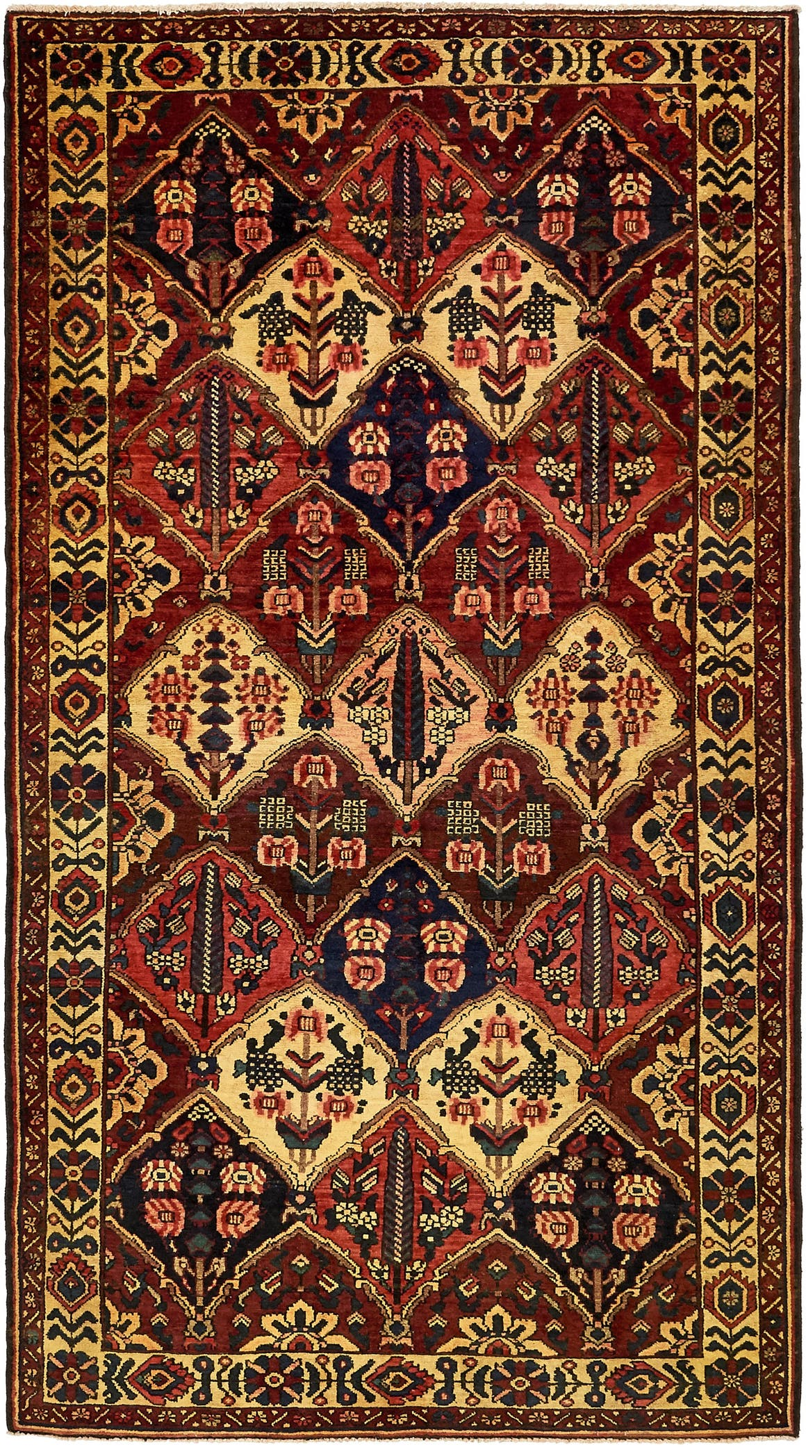 5' 4 x 10' Bakhtiar Persian Rug main image