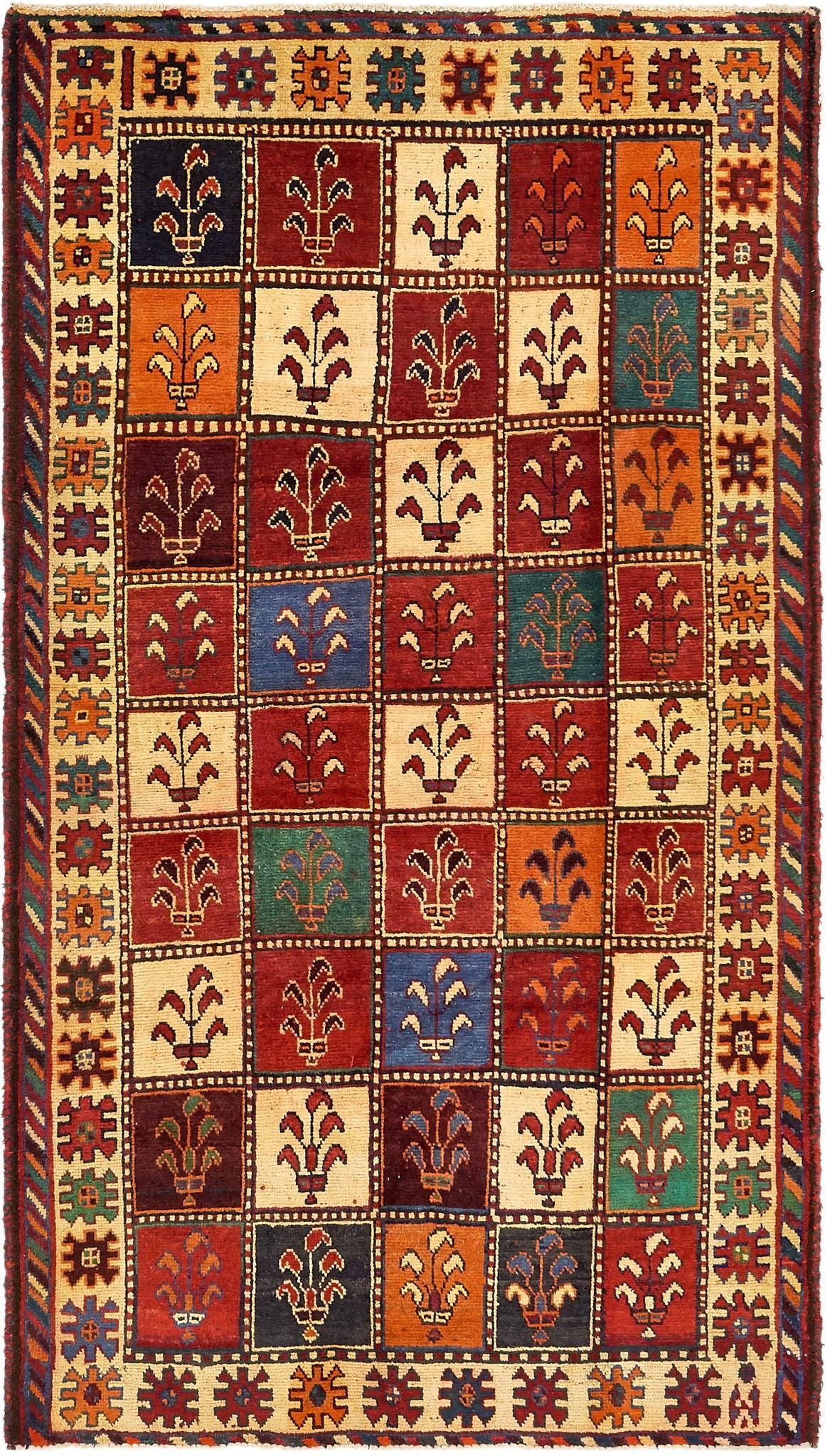 5' 2 x 9' 4 Bakhtiar Persian Runner Rug main image