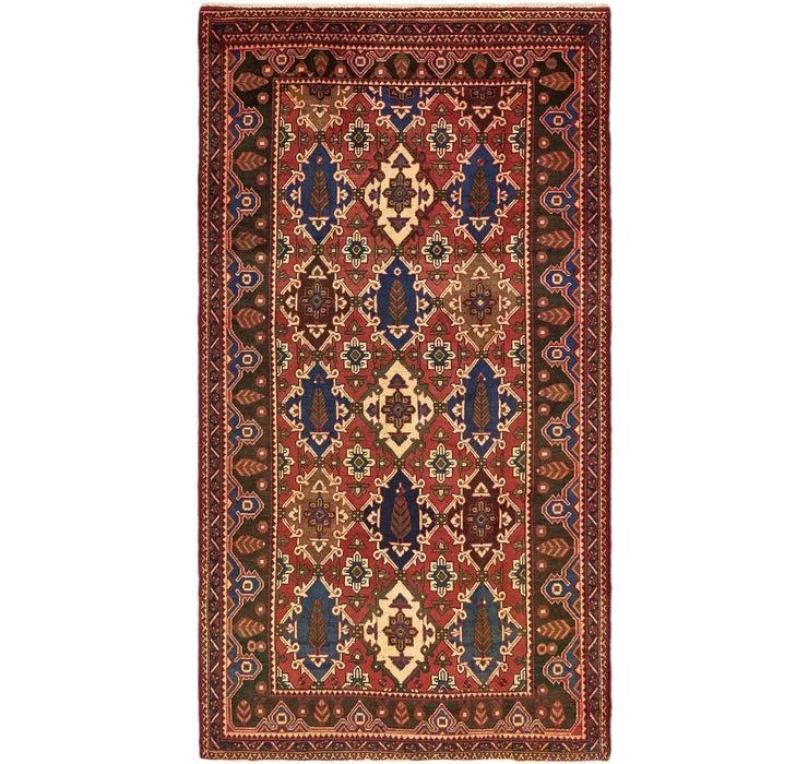 160cm x 300cm Shiraz Persian Rug