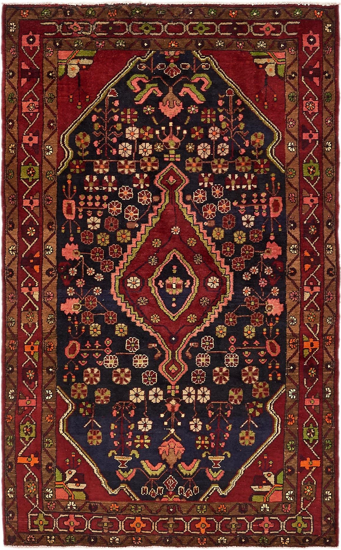 4' 8 x 7' 9 Nanaj Persian Rug main image