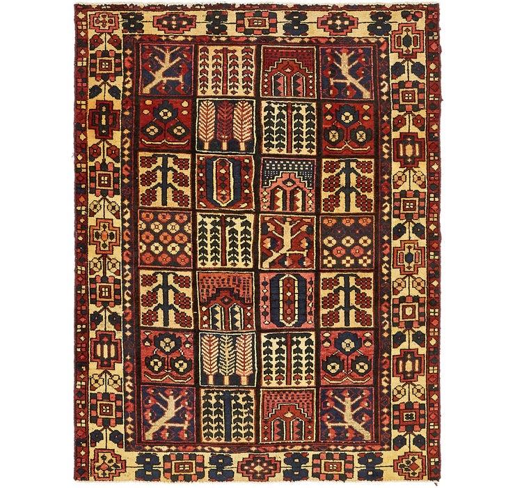 140cm x 193cm Bakhtiar Persian Rug