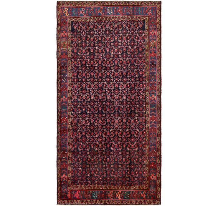5' x 10' Koliaei Persian Runner ...