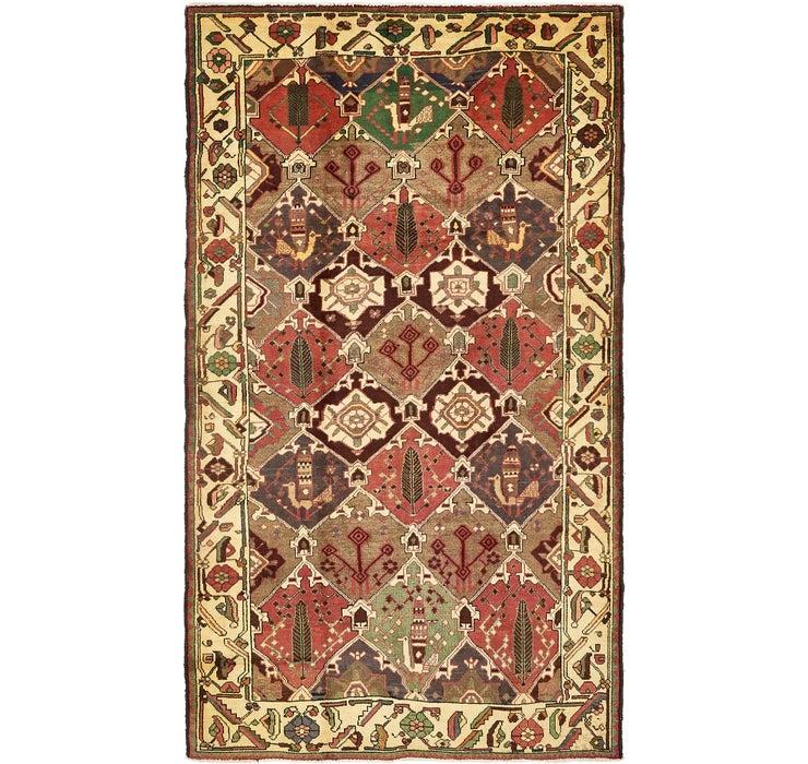 163cm x 305cm Bakhtiar Persian Rug