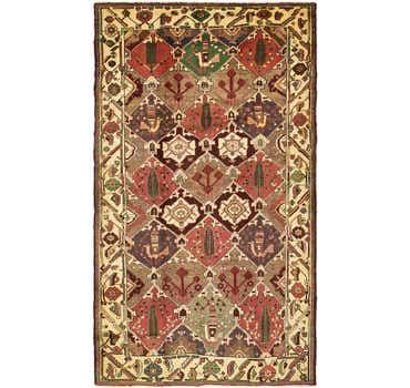 Image of 5' 4 x 10' Bakhtiar Persian Rug