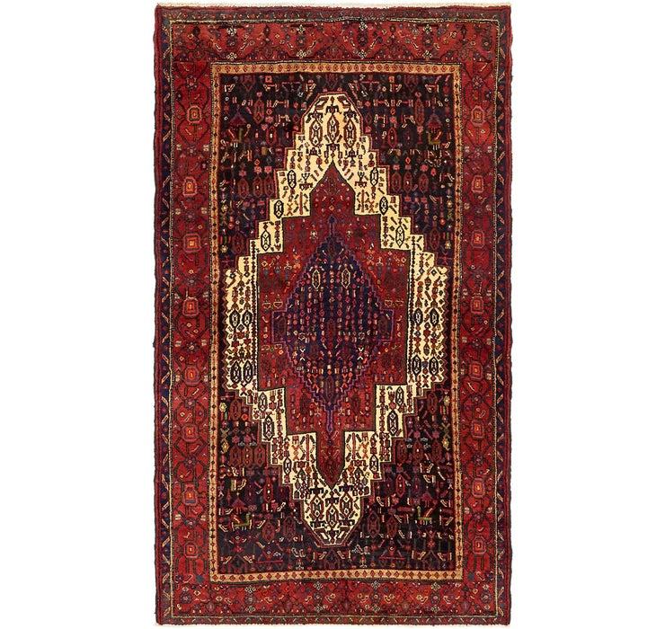 127cm x 225cm Sanandaj Persian Rug