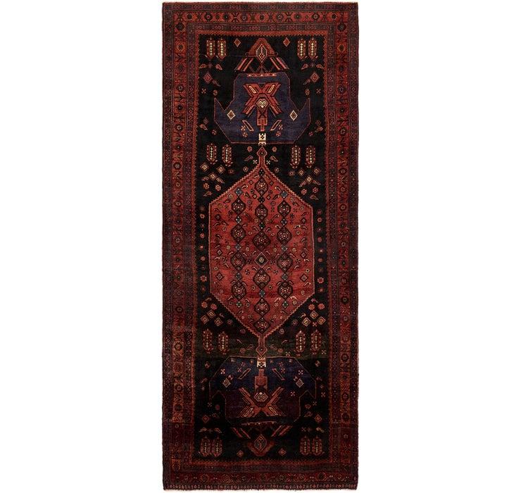 4' 9 x 12' 3 Sirjan Persian Runner Rug
