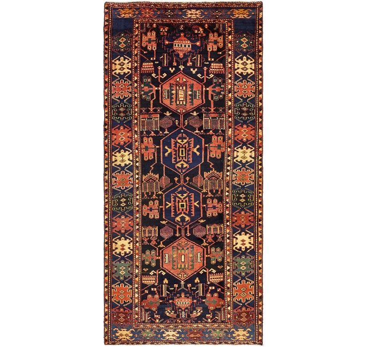 4' 9 x 10' 3 Saveh Persian Runner Rug