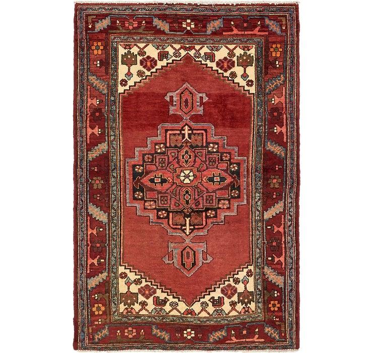 Image of 132cm x 200cm Hamedan Persian Rug