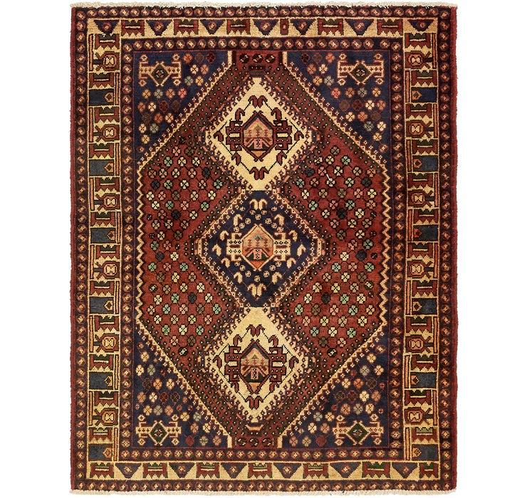 157cm x 198cm Shiraz Persian Rug