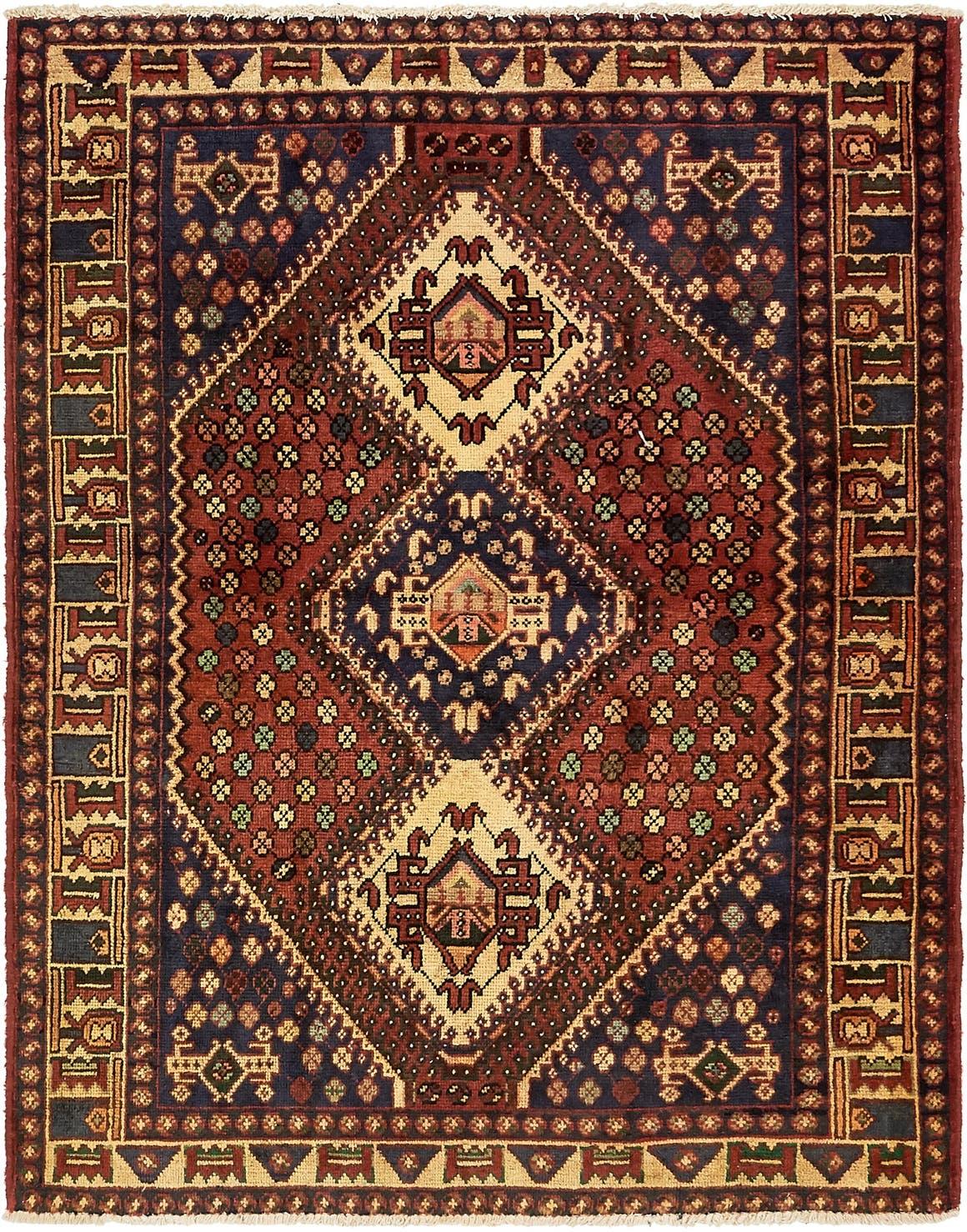 5' 2 x 6' 6 Shiraz Persian Rug main image