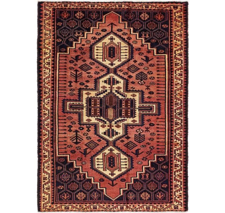 5' 7 x 7' 10 Shiraz-Lori Persian Rug