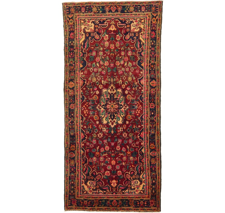 145cm x 312cm Borchelu Persian Runner...