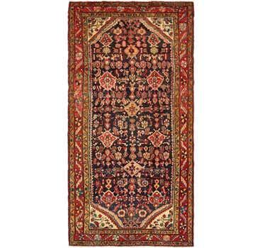 Image of 5' 2 x 10' 3 Nanaj Persian Runner Rug