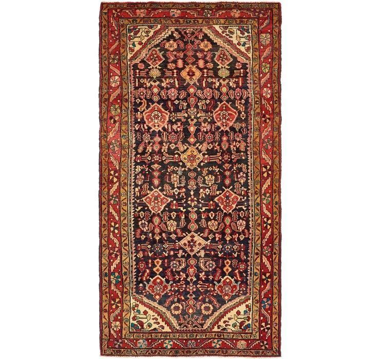 Image of 157cm x 312cm Nanaj Persian Runner Rug