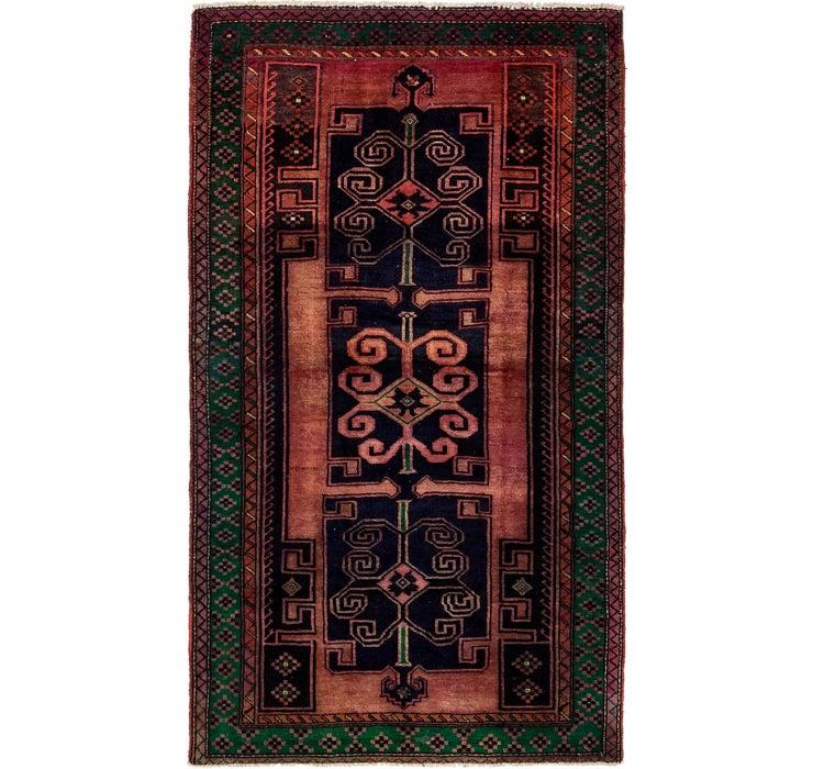 147cm x 255cm Khamseh Persian Rug