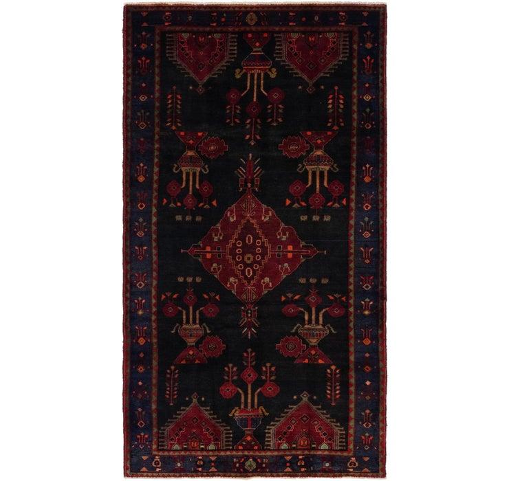 5' x 9' 4 Hamedan Persian Rug