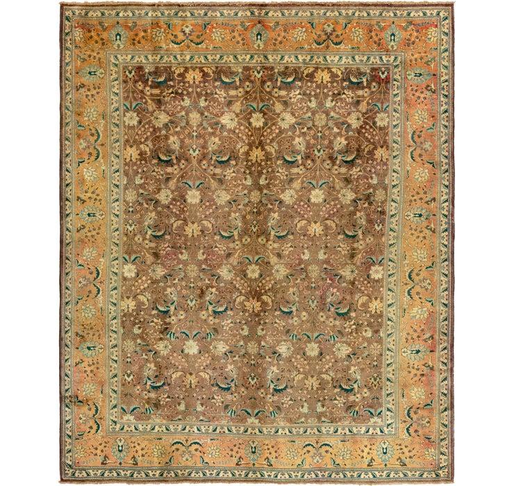 295cm x 373cm Tabriz Persian Rug