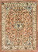 10' x 13' 9 Meshkabad Persian Rug thumbnail