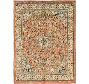 10' x 13' 9 Meshkabad Persian Rug main image