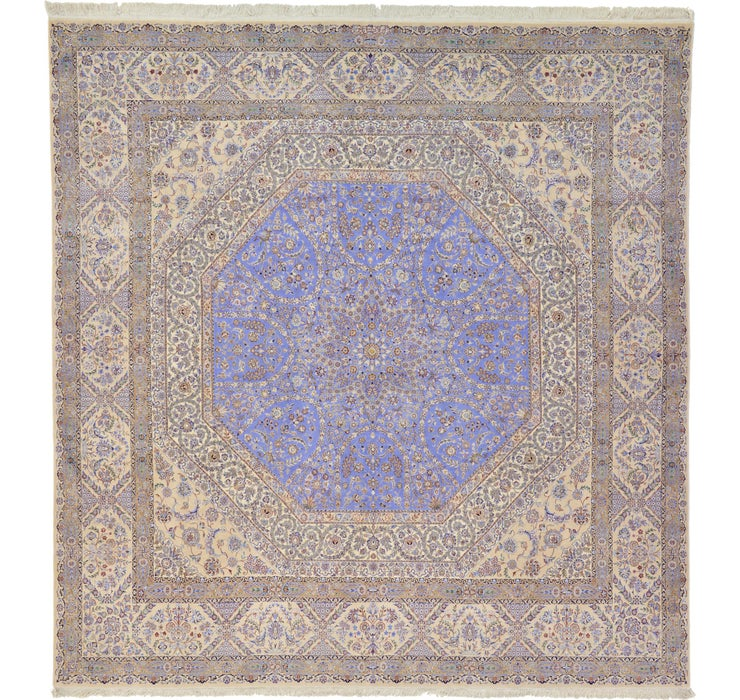 9' 11 x 10' 4 Nain Persian Square Rug