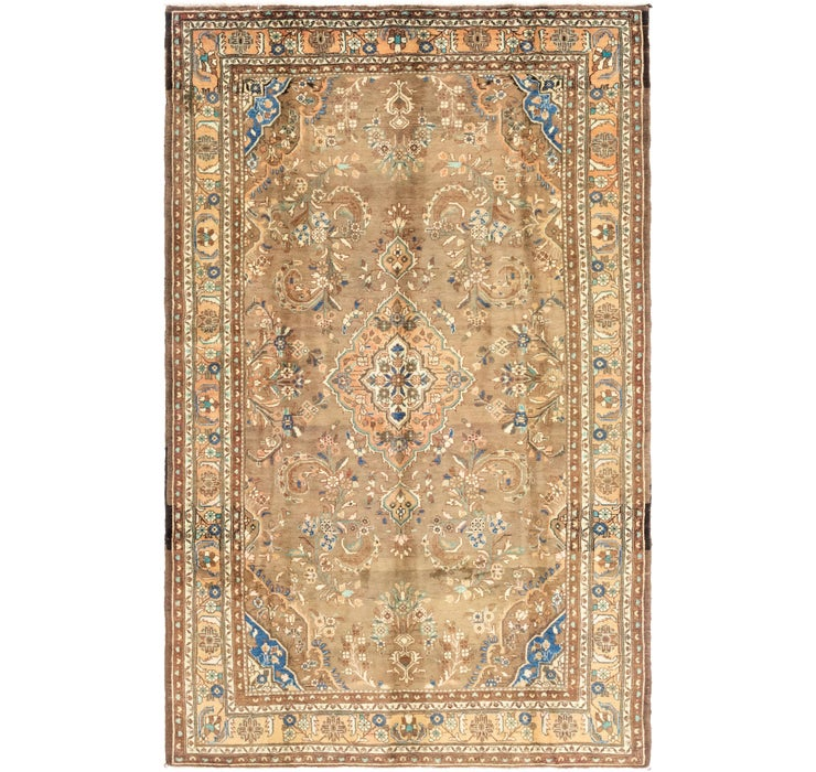Image of 6' 7 x 10' 10 Nanaj Persian Rug