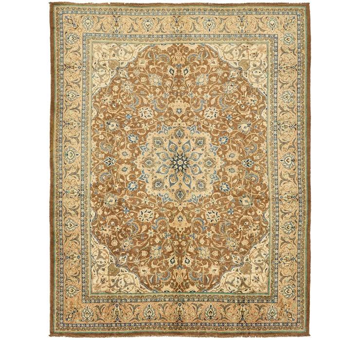 Image of 300cm x 395cm Meshkabad Persian Rug