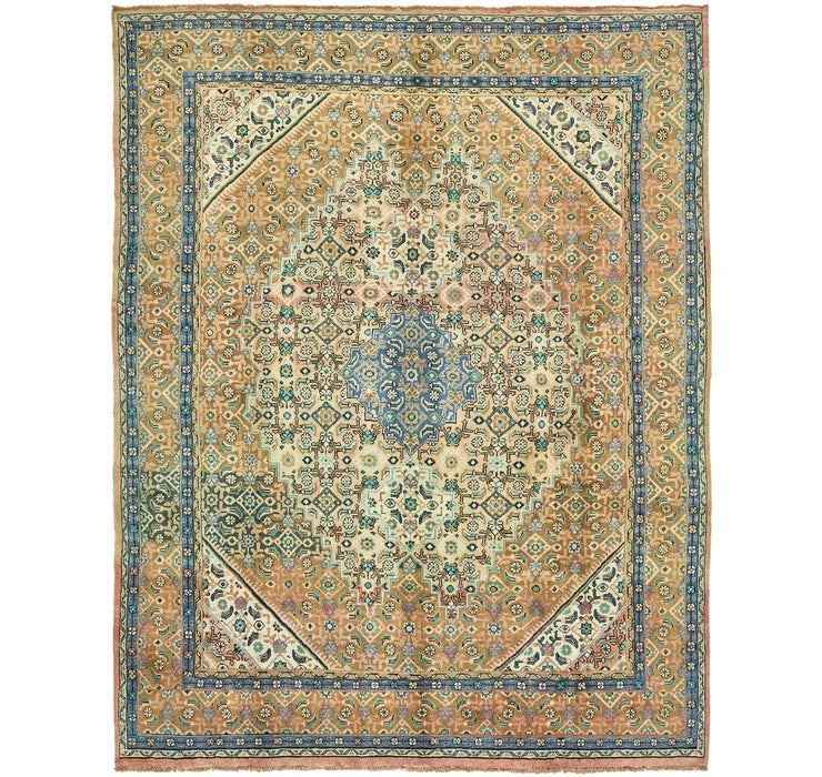 9' 8 x 12' 10 Farahan Persian Rug