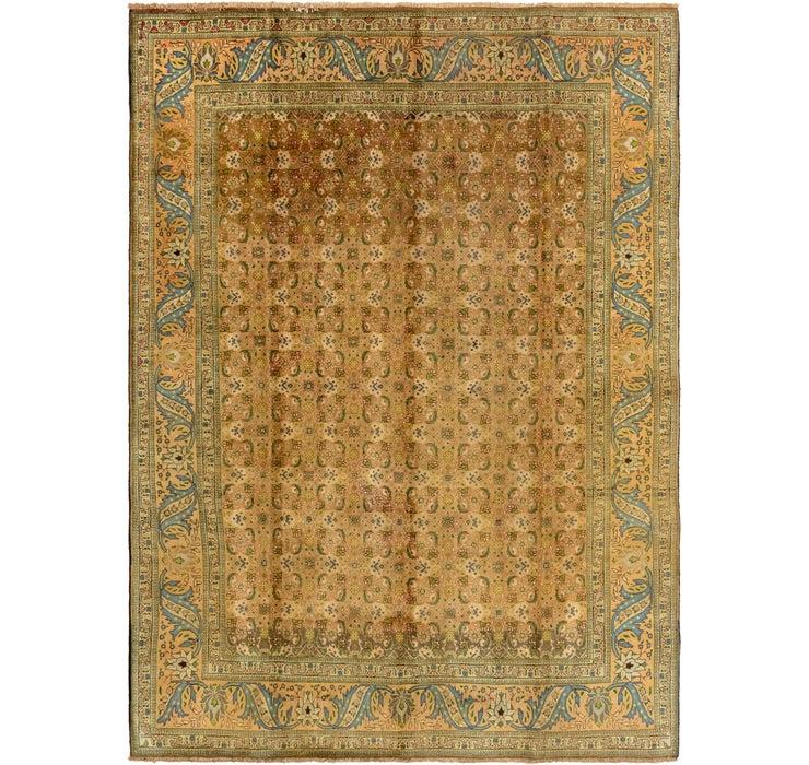 287cm x 395cm Tabriz Persian Rug