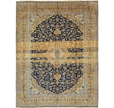 9' 8 x 12' 5 Kashan Persian Rug main image