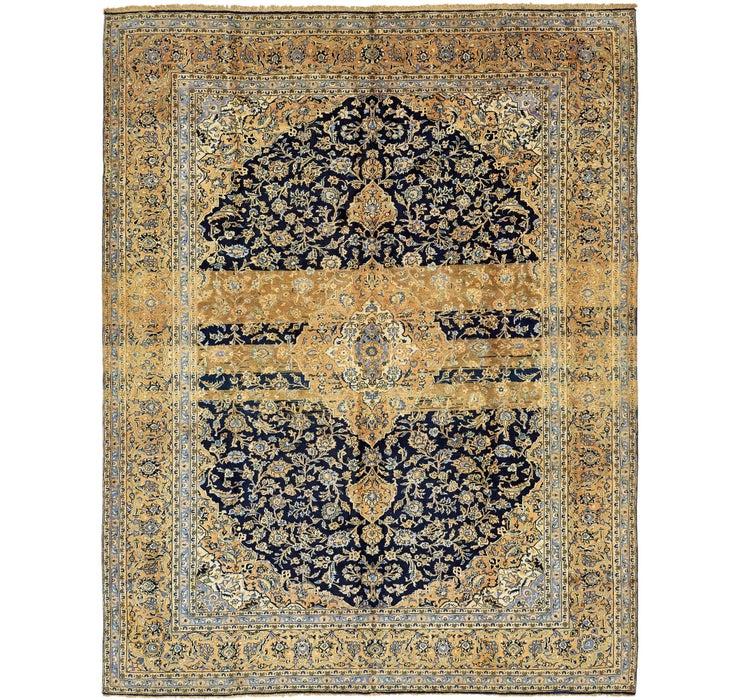 Image of 9' 8 x 12' 5 Kashan Persian Rug