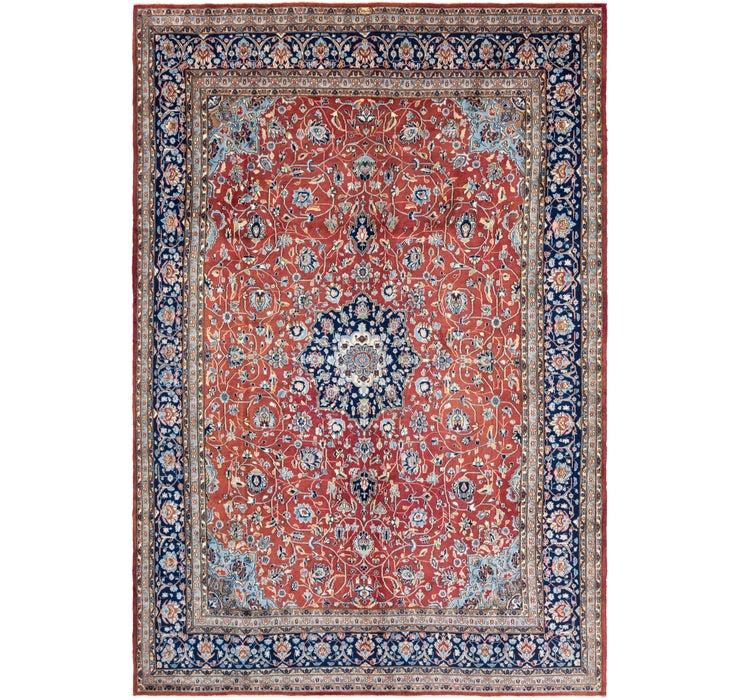 285cm x 427cm Kerman Persian Rug