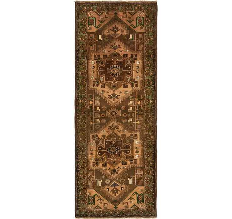 120cm x 312cm Saveh Persian Runner Rug