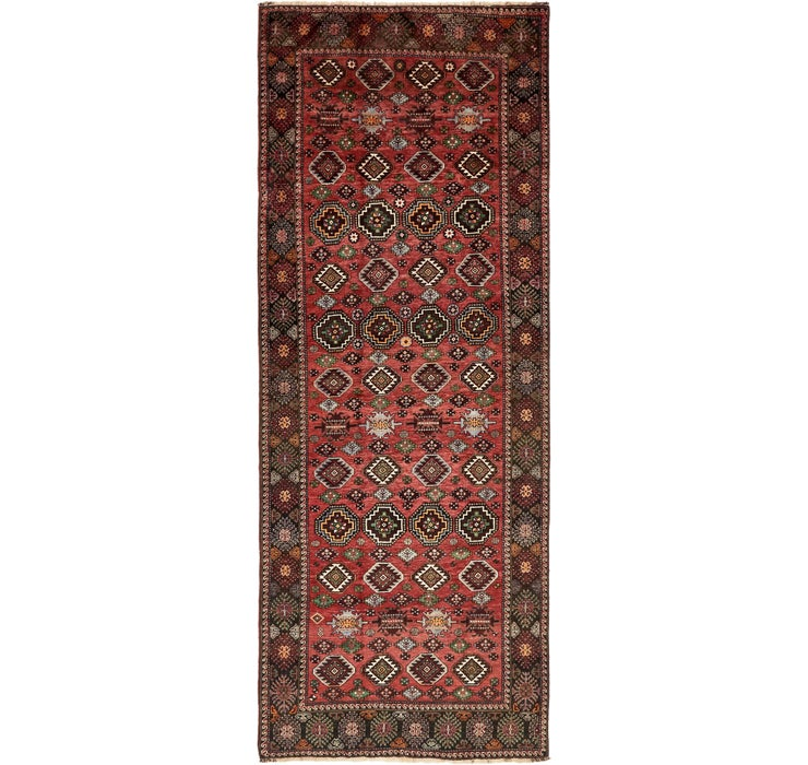 Image of 157cm x 390cm Ghoochan Persian Runner...