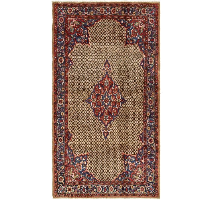 Image of 5' 4 x 10' 2 Koliaei Persian Rug