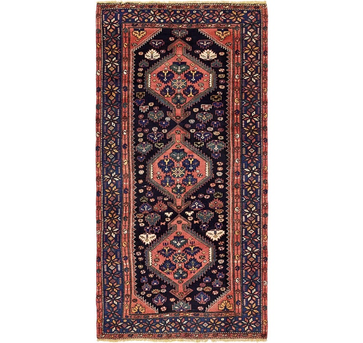 137cm x 280cm Zanjan Persian Runner Rug
